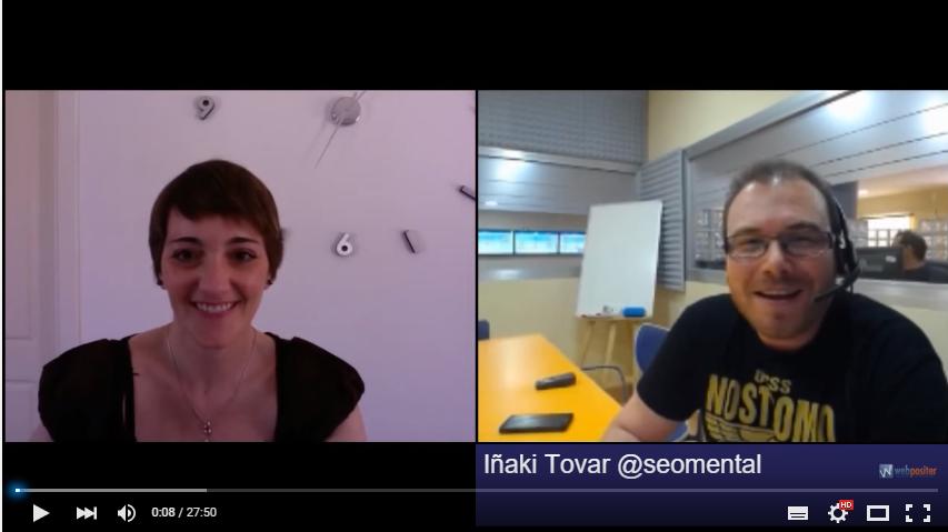 Entrevistada por Iñaki Tovar hablando de Marketing Emocional