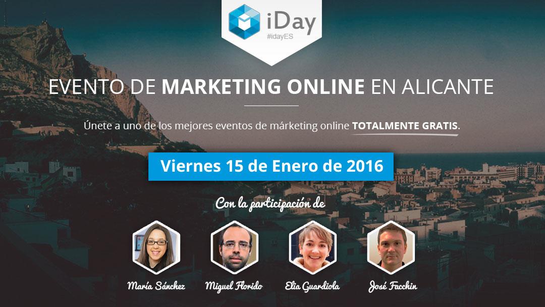 Evento iDay el 15 de enero 2016, en Alicante