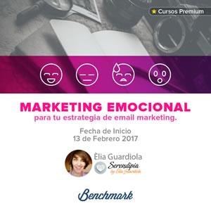 Marketing Emocional para tu estrategia de email marketing con Elia Guardiola y Benchmark