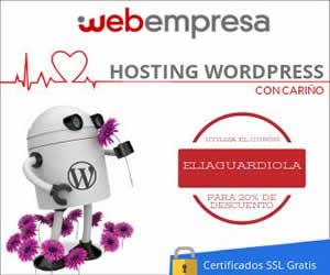 Webempresa Descuento Hosting Elia Guardiola