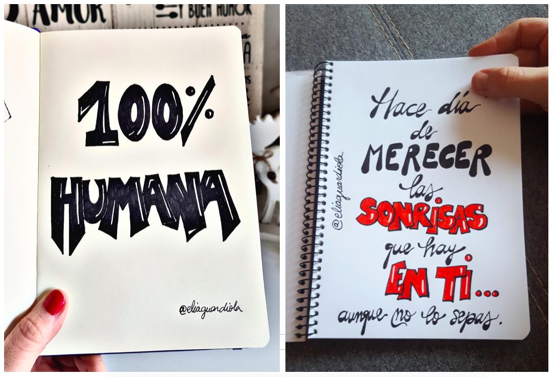 Láminas Handlettering Elia Guardiola