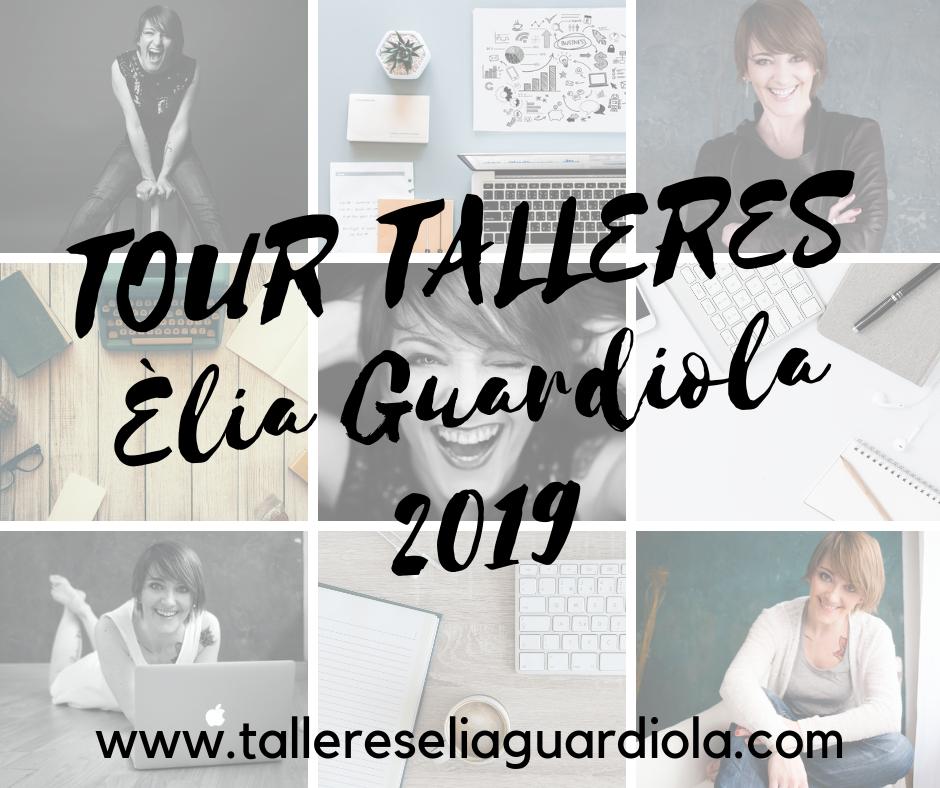 Marketing Emocional y Storytelling. Mis talleres en 17 ciudades de España (actualizado junio 2019)