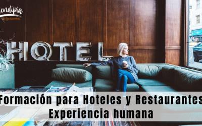 Formación Online para Hoteles y Restaurantes. Experiencia humana